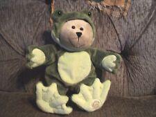 Starbucks Coffee Company bear in frog costume plush 2005