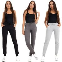 Ladies Fleece Jogging Bottoms Women Sports Sweat Pant Gym Joggers Plus Size