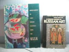 Libros antiguos y de colección, arte, en ruso