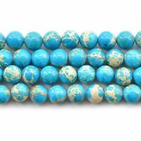 Blue Round Imperial Pine Howlite Loose Beads Natural Stone beads free Shipping