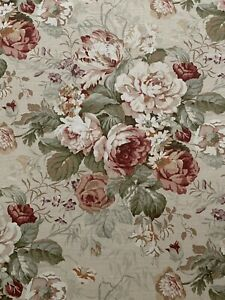 Warwick Bibury Chintz  Curtain Cushion Upholstery Print Fabric 3 Metre Pieces