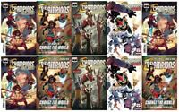 🔥🔥  CHAMPIONS #1 (MARVEL,2020)SPIDER-MAN,NOVA - LOT OF 10 ASSORTED COVERS  🔥