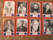 1986 Brown's Boxing Cards 30 CARDS (71 THRU 100) THE HARD TO FIND SERIES 3