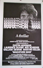 "MARATHON MAN ORIGINAL MOVIE POSTER 45"" x 29 1/2"""