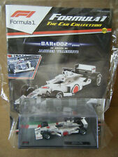 "Panini F1 collection ""BAR 002 -2000"". Jacques Villeneuve 1:43. New & Sealed."