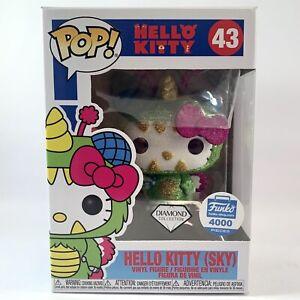 HELLO KITTY (SKY) DIAMOND COLLECTION 4000pcs Funko Pop Vinyl Glitter Sparkle #43