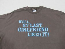 Taboo T-Shirt Mens XL Brown - Well My Last Girlfriend Liked It!