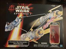 Star Wars Hasbro 1998 Episode 1 Anakin Skywalker Pod Racer in Box NICE