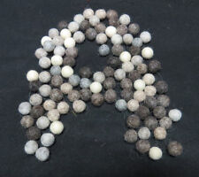 FB4 Hand Crafted 1cm 50pc Natural color wool pom pom beads Felt Ball Decorative