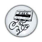 Badge Vintage K7 Cassette retro rock pop new wave punk goth pins button Ø25mm