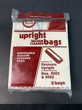 DVC KENMORE CANISTER # 5002 & 5062 Vacuum Bags