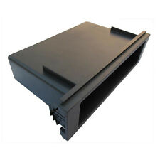 One Din Storage Box for Honda Mazda Mitsubishi VW Fascia Dash Mount Hook Pocket