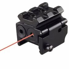 Tactical Mini Red Dot Laser Sight Scope Rail Weaver Detachable Picatinny 20MM