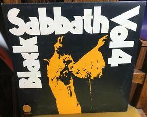 BLACK SABBATH VOL 4 1972 UK VERTIGO STEREO 1ST PRESSING PORKY/PECKO w/INSERT