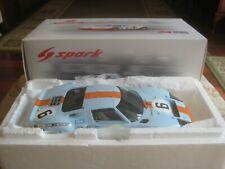 1/18 SPARK FORD GT 40 #6 1969 LE MANS WINNER