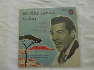 mario lanza a napoli-orchestre rca victor-LP 33 tours- 25 cm