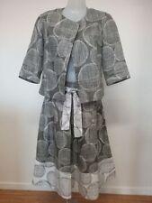 Knee-Length Regular Size Linen Skirts for Women