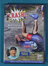 Dvd Crash! Road Cycling's Greatest Crashes Hosted by Bob Roll 2003 World Cycling