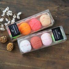 100% Natural Organic Bath Bomb Green Tea and Chamomile Essential Fizzy 3 pcs