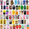 For Apple iPhone X 8 8Plus 3D Cute Cartoon Soft Silicone Phone Case Cover Back
