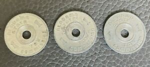(3) Alabama State Tax Commission - Luxury Tax Tokens 1