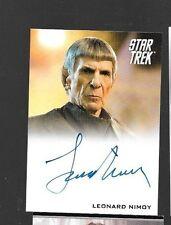 Leonard Nimoy as Spock autograph Star Trek Movie 2009