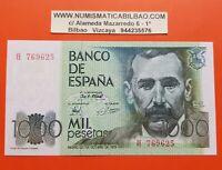 ESPAÑA 1000 PESETAS 1979 Serie H BENITO PEREZ GALDOS Pick 158 SC SIN CIRCULAR