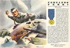 C5020) WW2 GRECIA, MO.O FERNANDO FERRI DA PALERMO 14 FANTERIA PINEROLO.