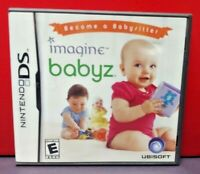 Imagine Babyz Become a Babysitter  - Nintendo DS DS Lite 3DS 2DS Game + Tested