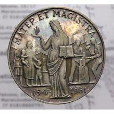 Medaglia Argento 1963 Enciclica Mater et Magistra LOT1296