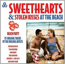 Sweethearts & Stolen Kisses at The Beach 3 CD Set 50s and 60s Summer Favourites