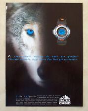 B134-Advertising Pubblicità-2000 - PRO TREK CASIO - OROLOGI