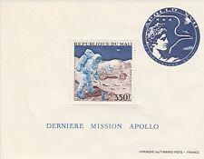 MALI - 1973 - MOON MISSION OF `APOLLO 17` - MINI SHEET - UM / MNH