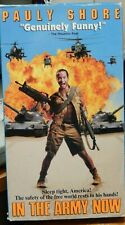 In The Army Now Pauly Shore VHS Tape PG 92 Minutes