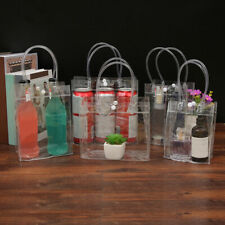 Clear Convenient Tote PVC Bag Women Travel Storage Cosmetic Handbag S M L