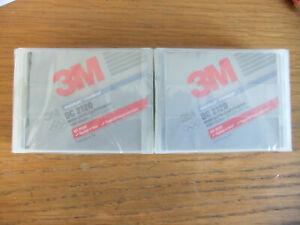 TWO 3M DC 2120 Data Tape Cartridge 120 Mb
