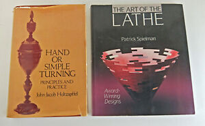 2 Books: Art of the Lathe by Patrick Spielman & Hand or Simple Turning (9953)