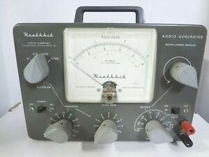 Heathkit Audio Generator Model AG-9A