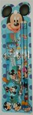 Mini 5 Piece Stationary Set With Cartoon Mouse Colour Blue