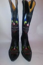 Old Gringo Forever one of a kind Leather Embroidery Cowgirl Boots Size 7B