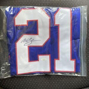 Willis McGahee Signed Autograph Jersey Buffalo Bills
