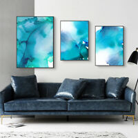 Nordic Abstract Canvas Painting Background Wall Bedroom Home Decor Unframed Surp