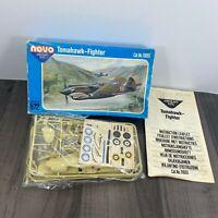 Vintage Novo Tomahawk Fighter 1/72 Scale Model Kit No.78051