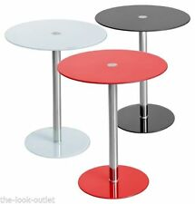 Glass Contemporary Side & End Tables