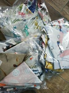 2kg Bag of Fryetts Cotton Oilcloth Offcuts and Remnants for Crafts