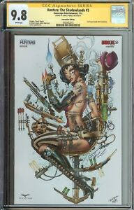 HUNTERS THE SHADOWLANDS #3 SS CGC 9.8 TYNDAL 2013 FAN EXPO CANADA EXCLUSIVE