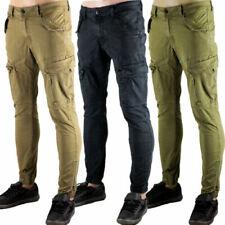 Pantaloni da uomo elasticizzati neri
