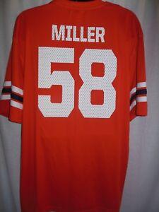 Denver Broncos Von Miller #58 Jersey Material Jersey Shirt Size Medium