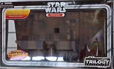 ~ Star Wars - SANDCRAWLER ORIGINAL TRILOGY COLLECTION & FIGURES MINT IN BOX RARE