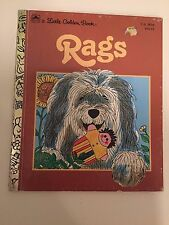 A Little Golden Book, RAGS - 303-44 Good Cond.Vintage~1970~ Patsy Scarry